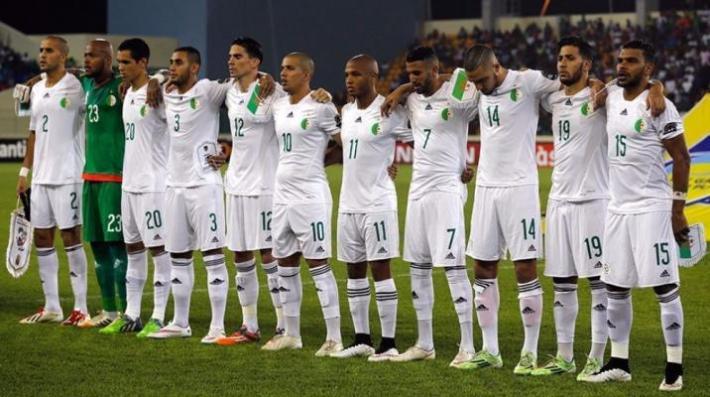 Alg rie les fennecs ont un nouveau maillot - Algerie disqualifie coupe du monde ...