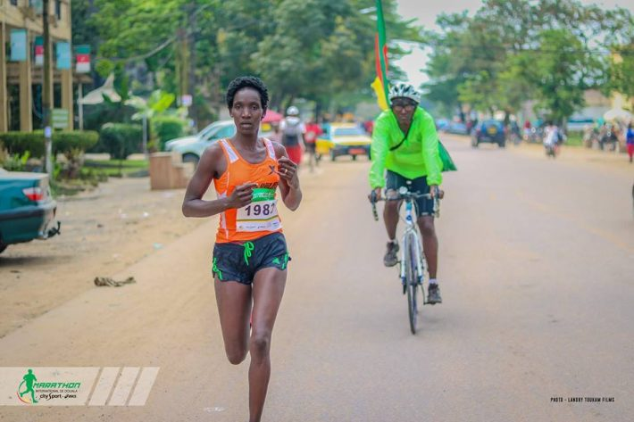 Too Mercy Jelimo, vainqueur du marathon chez les dames