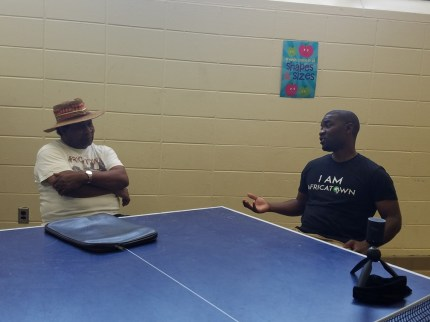 Joe Womack and Wyking Garrett talk about Africatown in Mobile and Seattle