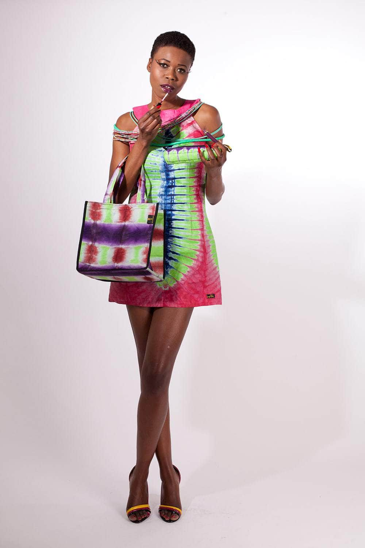 Robe Africaine Courte Eluisa En Bazin Africouleur