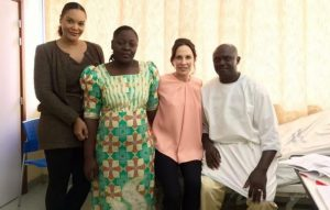 La famille présidentielle venue soutenir le lieutenant Moussodji