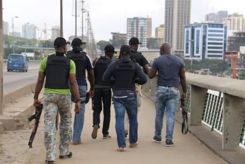 la police ivoirienne