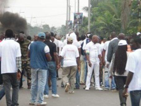 Les activistes en action