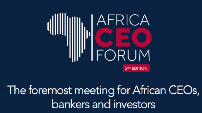 Réinventer le « business model » africain avec Le AFRICA CEO FORUM