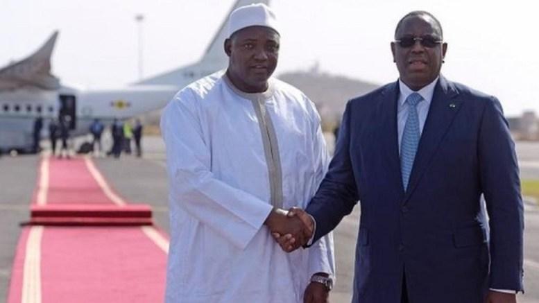 Adama Barrow et Macky sall à Dakar - Adama Barrow : « Macky Sall et moi sommes des jumeaux »