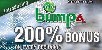 Glo Bumpa Tariff Plan: Get 200% Bonus On Every Recharge