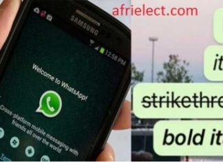 WhatsApp Tips: How to Add Bold, Italics, and Strikethrough durin chat