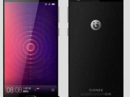 Gionee A1 Android smartphone