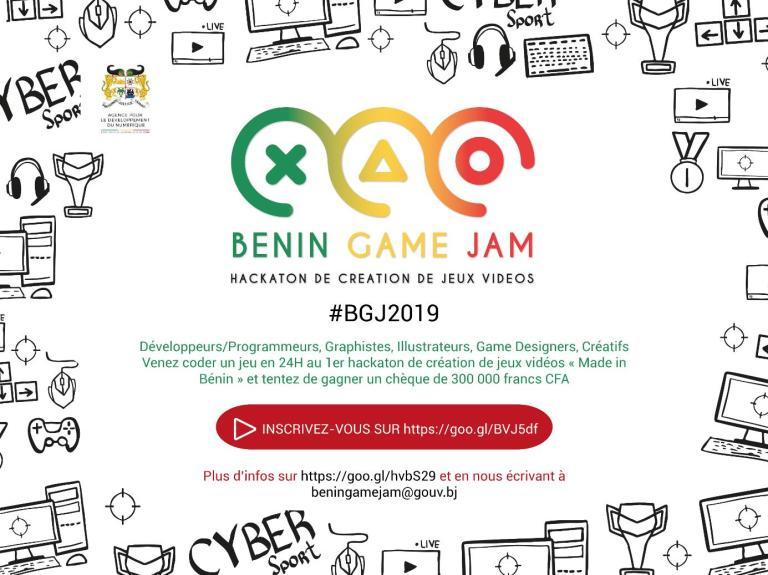 BENIN GAME JAM 2019.  Hackaton de création de jeu-vidéo au Bénin
