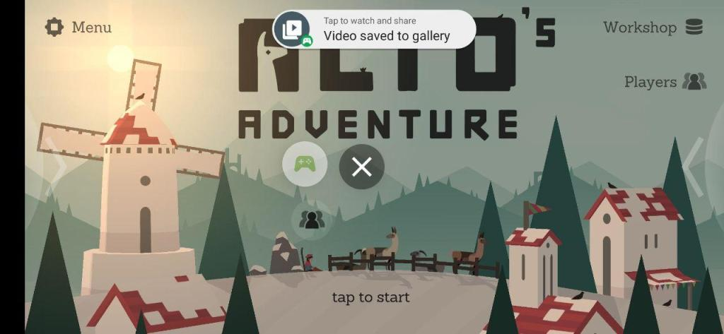 Google Play Jeux - arrêt capture gameplay vidéo