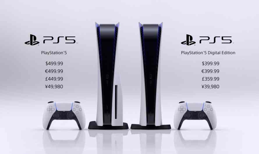 Le prix de la PS5 dévoilé