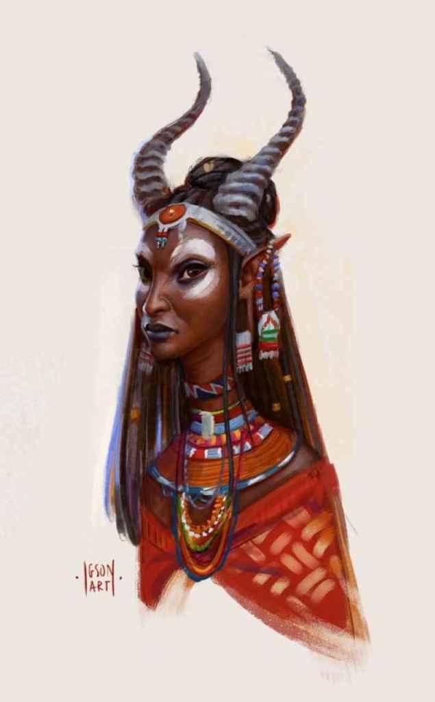Wagadu Chronicles - Concept art