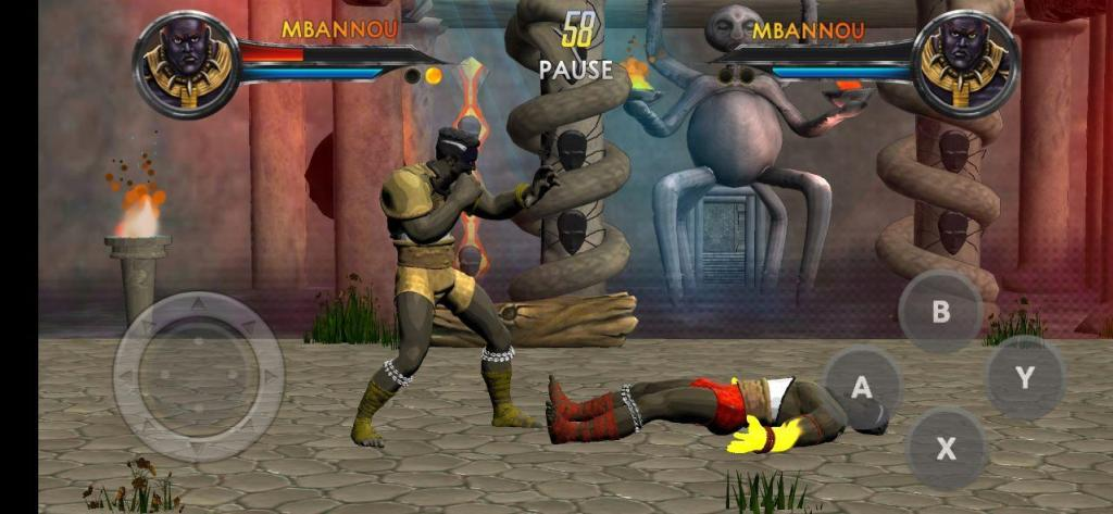 Afro Warriors Battle for Power