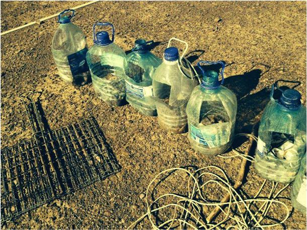 MOOP bottles – we use these to pick up micro MOOP – Duncan Larkin