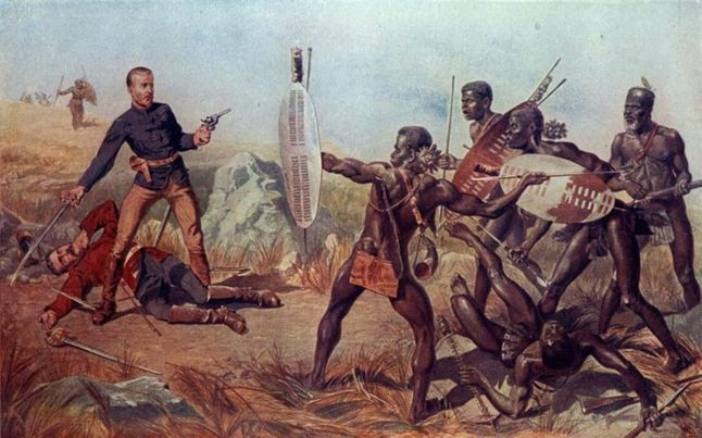 The Zulu Resistance Against The British At Isandlwana
