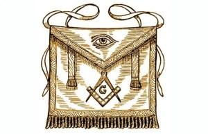 Masonic ancient symbol lambskin