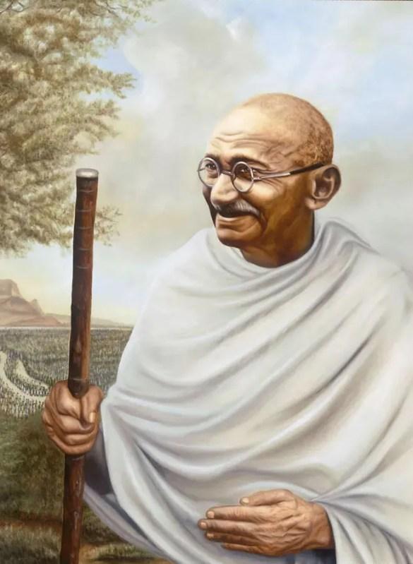Mahatma-Gandhi Racism