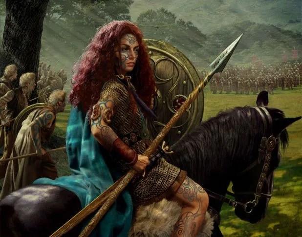 Queen Boudicca Revolt