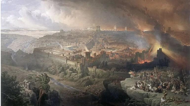 Roman Siege Of Jerusalem