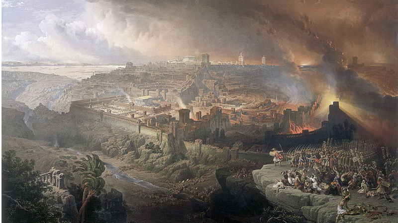 The Roman Siege Of Jerusalem