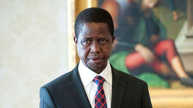 Edgar Lungu est président de la Zambie depuis janvier 2015.