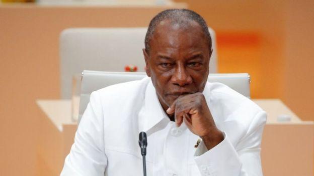 Ancien opposant historique, le président Alpha Condé est le premier président démocratiquement élu de la Guinée. Crédit: BETTY IMAGES