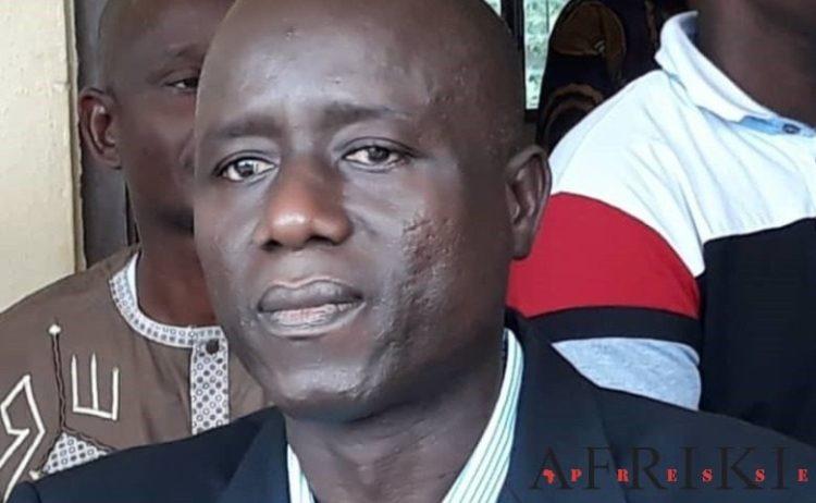 Bamba Moustapha, proviseur. Photo: Afrikipresse