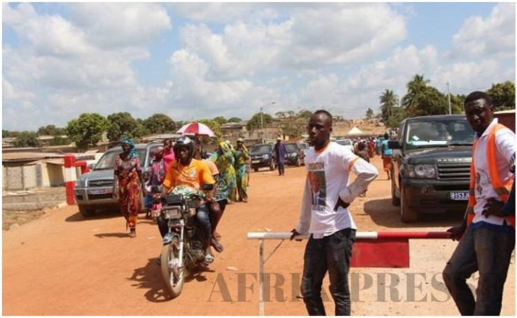 Le pont du quartier Dar Es salaam inauguré par Amadou Koné