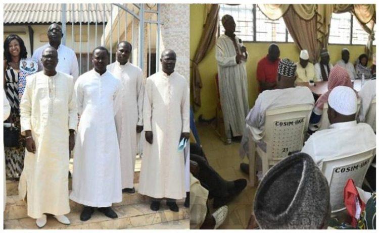 le ministre Amadou Koné a échangé le jeudi 19 décembre 2019 avec les guides religieux de la ville