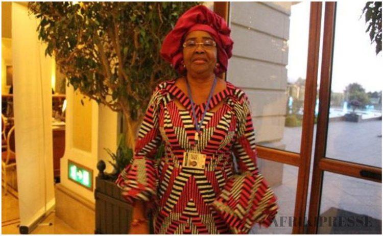 Mme Joséphine Charlotte Mayuma Kala, représentante spéciale de Moussa Faki ( commission UA) à Abidjan