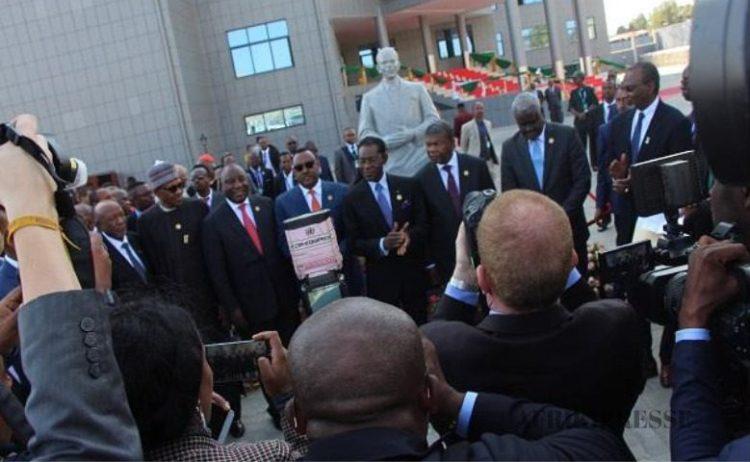 inauguration du siège du CISSA à Addis-Abeba