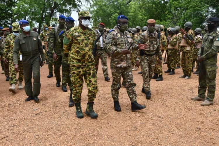l'armée ivoirienne et burkinabè