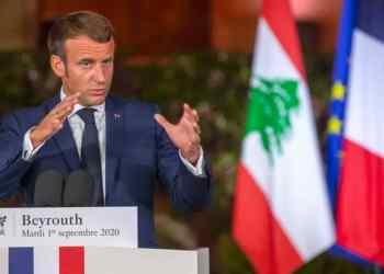le Monde: Le président français en conférence de presse le 1er septembre 2020 à Beyrouth