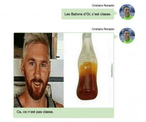 La Conversation Whatsapp Entre Ronaldo Et Messi Enfin