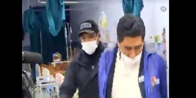Insolite: Il surprend un infirmier en plein ébat s3xuel avec le cadavre de sa femme (photo)