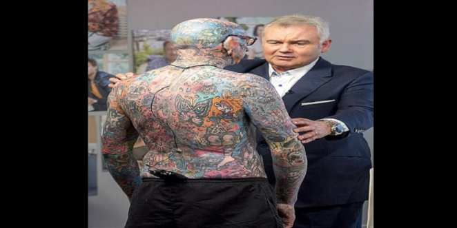 Miscellaneous: Discovering Paul Allen, the man with 800 tattoos (photos)