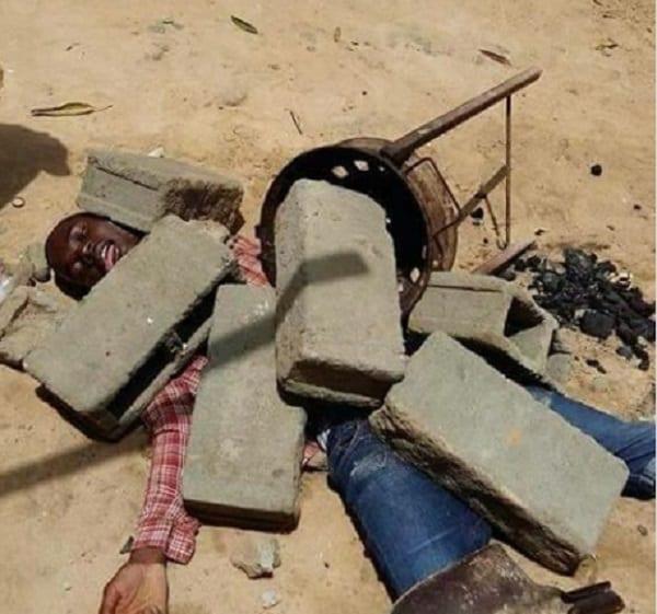 Angola: La jeunesse joue les morts pour protester contre la mauvaise gouvernance (photos)