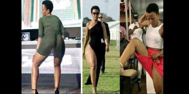 Zambie: la danseuse sud-africaine qui ne porte pas de slip expulsée du territoire...La raison (photos)