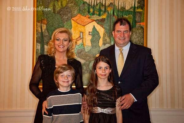 Croatie: Découvrez la famille de la présidente glamour, Kolinda Kitarovic