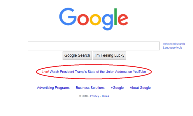 USA: Trump unfairly accuses Google of favoring Obama