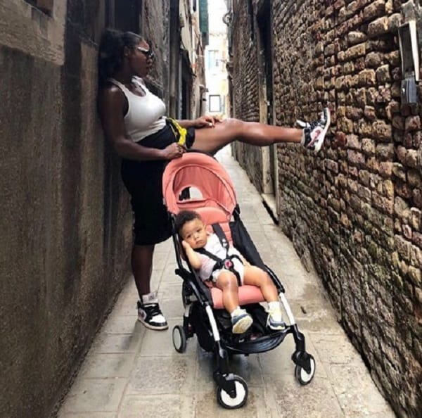 Serena Williams reveals how her daughter made her humble during a flight