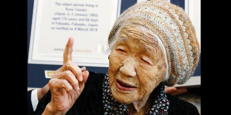 Japon : A 116 ans, Kane Tanaka devient la personne la plus âgée du monde (vidéo)