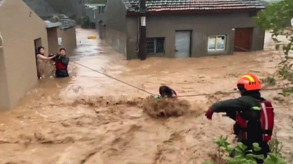 Chine: 32 morts et 20 disparus après le passage du typhon Lekima