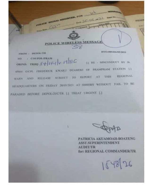 Ghana: un policier dans de sales draps après avoir insulté le président et le vice-président