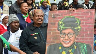 Photo of Funeral of Winnie Mandela: Thousands of South Africans gathered in Soweto
