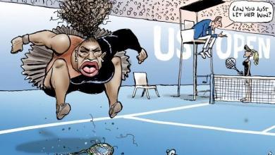 Photo of Nicki Minaj responds to Serena Williams' racist cartoon