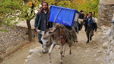 Photo of Afghans to the polls for the first time in eight years