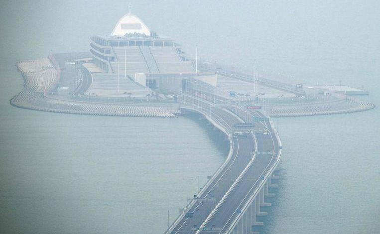 Photo of Longest sea bridge monitors heart rate, blood pressure and yawn of drivers