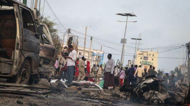 Photo of Forty dead in the attack in Mogadishu