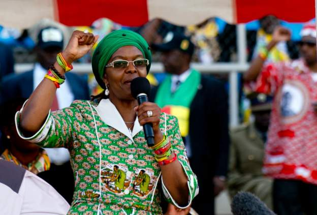Photo of South Africa Issues Arrest Warrant against Grace Mugabe